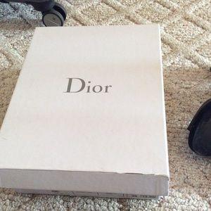 Dior Shoes - Christian Dior platform open toed heels